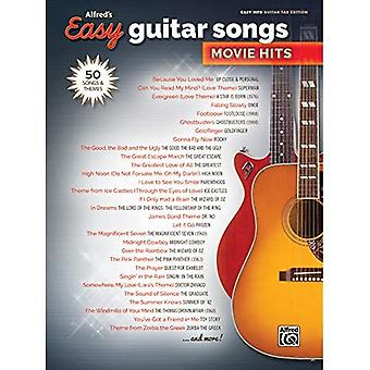 Alfred's Easy Guitar Songs -- Movie Hits: 50 Songs and Themes (Alfred's Easy)