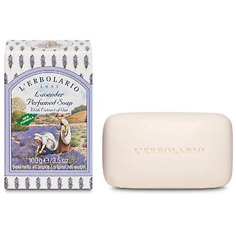 L'Erbolario Scented Lavender Soap 100 with Oat Extract 100 gr