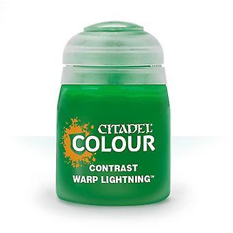 Contrast: Warp Lightning (18ml), Citadel Paint Contrast, Warhammer 40,000