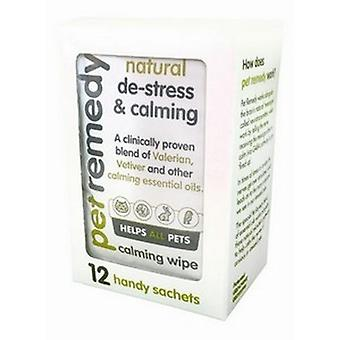 Pet Remedy Natural Calming Wipes (12 Sachets)