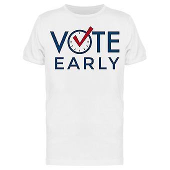 Vote Early Tee Men-apos;s -Image par Shutterstock