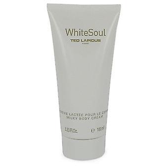 White Soul Body Milk By Ted Lapidus 3.4 oz Body Milk