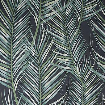 Superfresco Easy Palm Leaves Wallpaper Graham and Brown 100558