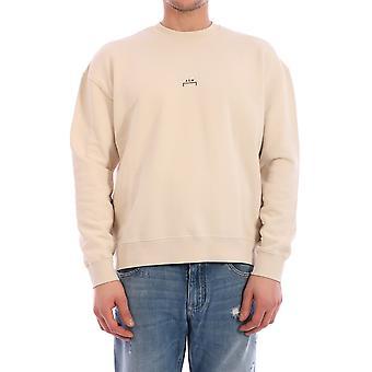En kall vägg Acwmw001whlgrvi Män's Beige Cotton Sweatshirt