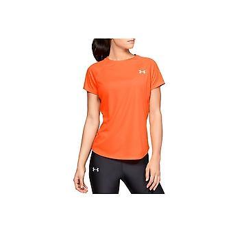 Bajo Armour Speed Stride Manga Corta 1326462836 entrenamiento todo el año camiseta de mujer