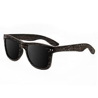 Earth Wood Cape Cod Polarized Sunglasses - Ebony/Silver
