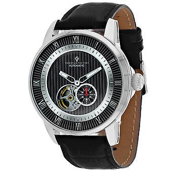 Christian Van Sant Men's Viscay Black Dial Watch - CV0551