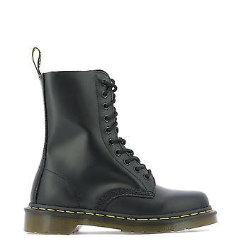 Dr. Martens Dms1490bsm10092001 Women's Black Leather Ankle Boots