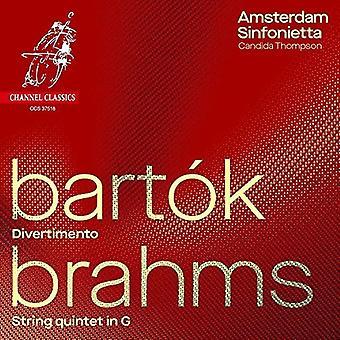 Amsterdam Sinfonietta - Bartok: Divertimento; Brahms: String Quintet No.2 [CD] USA import