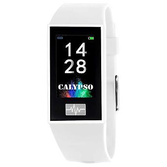 Calypso Unisex | Smartime | White Silicone Strap + Free Strap K8500/1 Watch