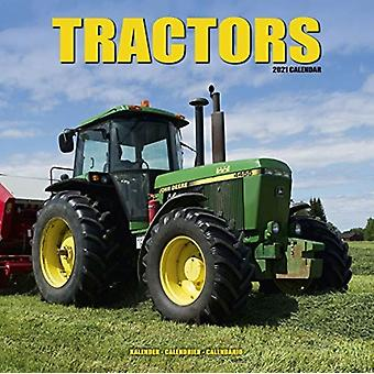 Tractors 2021 Wall Calendar by Created by Avonside Publishing Ltd