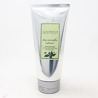 Laura Mercier Tea Menthe Citron Creme Body Cleanse  6oz/175ml New