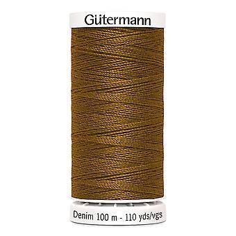 Gutermann Denim 100m No.50 Polyester Thread para Mão e Máquina - Cor 2040