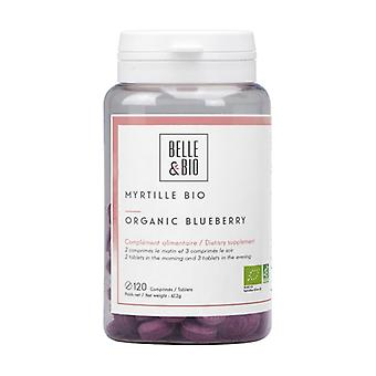 Organic blueberry 120 tablets