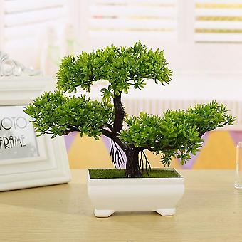 Simulointi mänty ruukkukasvi - keinotekoinen bonsai simulointi ruukkukasvi