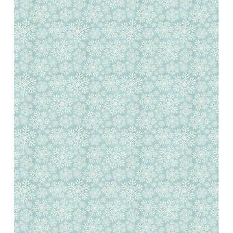 """Papeles de arte consorcio Decoupage 13,75"""" X15.75"""" 3/Pkg-azul los copos de nieve"""