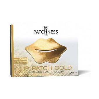 Lip Patch Gold 5 units