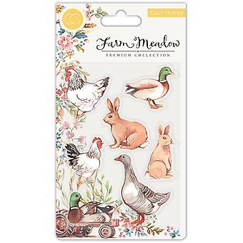 Craft Consortium Animals Clear Stamps