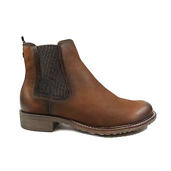 Tamaris 25422 Brunt läder Womens Chelsea Boots