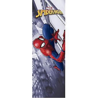 Pôster da porta do homem-aranha