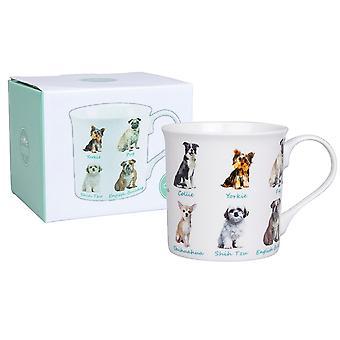 Pet Dog Fine China Mok - Boxed Gift