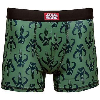 Star Wars Mandalorian Symbol Men's Underwear Boxer Briefs