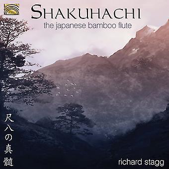 Richard Stagg - importación de Estados Unidos el Shakuhachi flauta japonesa de bambú [CD]