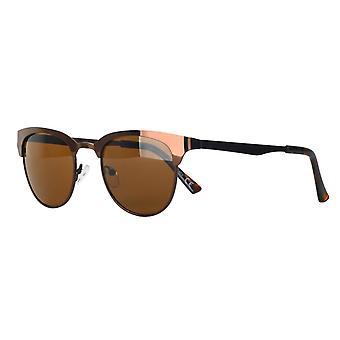 Sunglasses Unisex Cat.3 brown smoke/brown (AMU19213 A)
