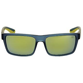 Sunglasses Unisex Sport Blue / Yellow