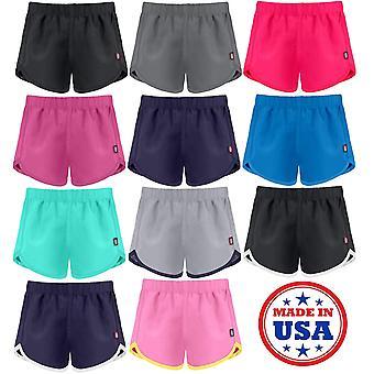 City Threads Girls' Swimming Suit Bottom Board Short Swim Athletic Shorts Bea...