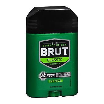 Brut soikea kiinteä tikku 24 tuntia deodorantti, alkuperäinen, 2,25 oz *