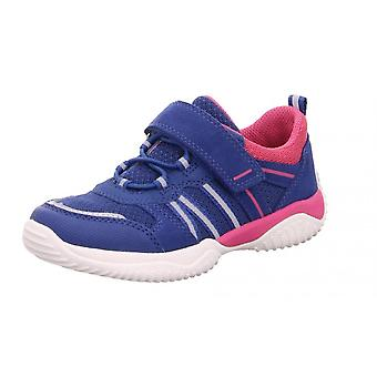 Superfit Girls Storm 6383-81 Trainers Blue Pink