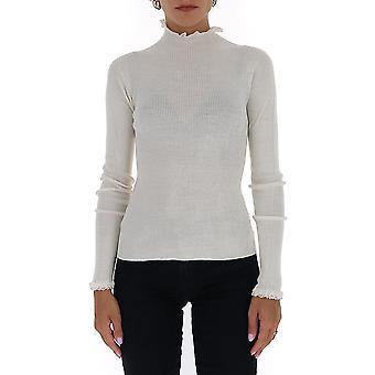 Filosofia Por Lorenzo Serafini 09245701a0003 Mulheres 's Suéter de Algodão Branco