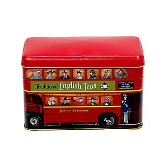 London bus tea tin 25 teabags
