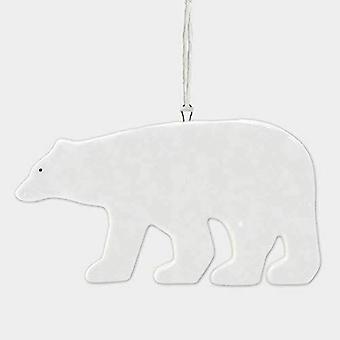 Oosten van India porselein hanger ijsbeer kerstboom decoratie