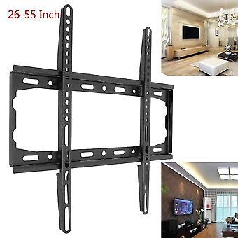 Universal Convenient 45kg Tv Wall Mount Bracket Fixed Flat Panel Tv Frame For 26-55 Inch Lcd/led Monitor