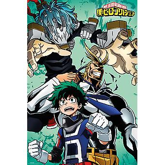My Hero Academia Collage Maxi Poster