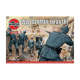 WWI German Infantry 1:76 Air Fix Figures