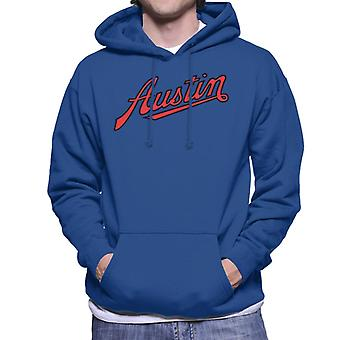 Austin Logo British Motor Heritage Men's Hooded Sweatshirt