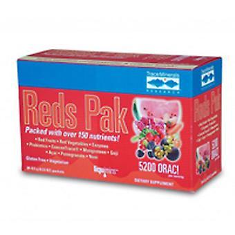 Trace Minerals Reds Pak, 30 paks