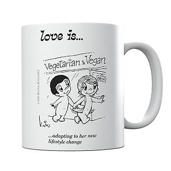 Love se está adaptando a su nueva taza de cambio de estilo de vida