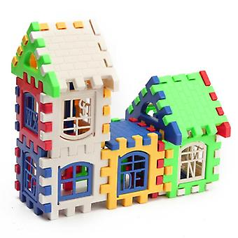 3d Puzzle-building Blocks, House Construction Toy Set