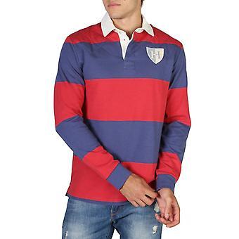 Hackett hm570777 homens'camisa polo mangas compridas