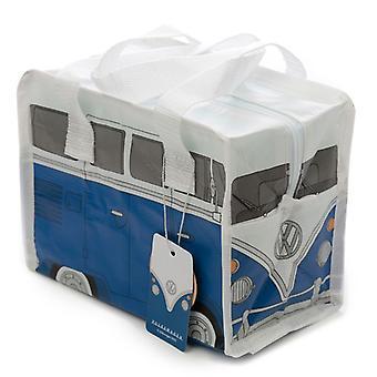 Puckator VW T1 Camper Bus Pequeña Bolsa azul de almuerzo
