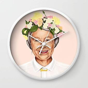 Queen Elizabeth Wall Clock