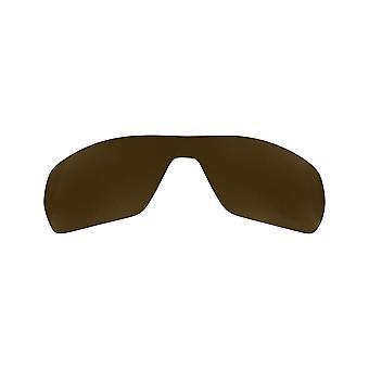 Gepolariseerde vervanging lenzen voor Oakley Uitloper zonnebril anti-scratch brown