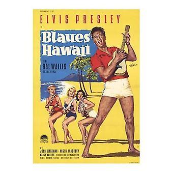 Sininen Havaiji elokuvajuliste (11 x 17)