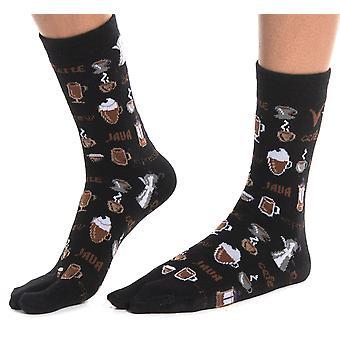 Flip Flop Tabi Ponožky - Karafa na kávu-1 pár