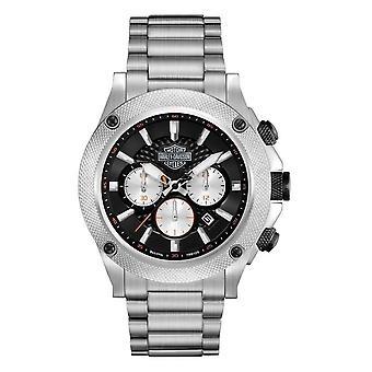 Harley Davidson 78B126 Men's Chronograph Wristwatch