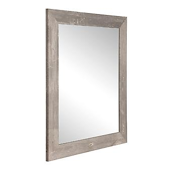 Urban Frontier Barnwood Square ou Diamond Framed Vanity Wall Mirror 32''X 32''